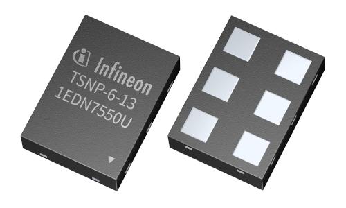 CI controlador de puerta con TDI de elevada densidad de potencia