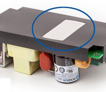 Fuentes con pad térmico AC/DC para alimentación industrial