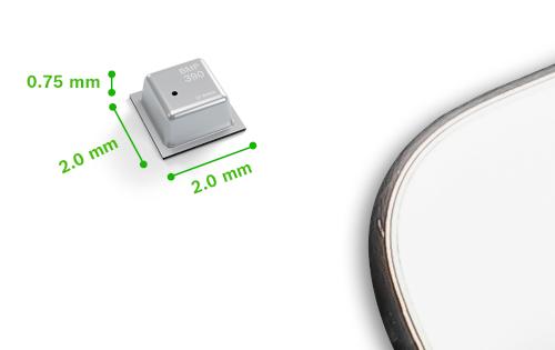 Sensor de presión atmosférica para teléfonos, weareables y hearables