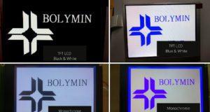"""Displays LCD TFT de 4.3 a 15"""""""