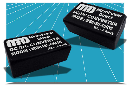 Convertidores miniDIP aislados DC/DC de 8 W