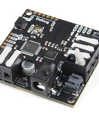 Tarjeta compatible para control de motor de pasos