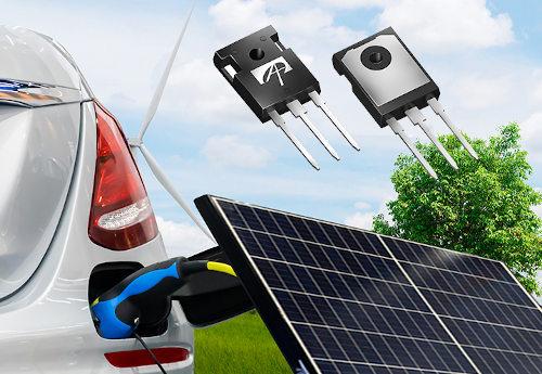 MOSFET αSiC de 1200 V para industria y automoción