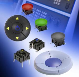 Interruptores táctiles con funcionalidad de joystick