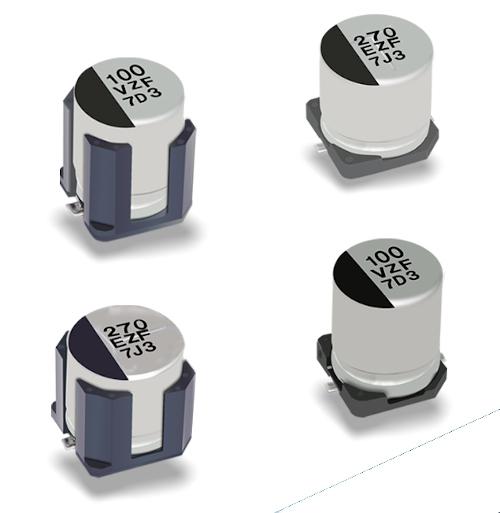 Condensadores electrolíticos de aluminio híbridos