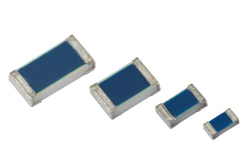 Resistencias chip planas para mercado automotriz