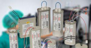 Condensadores para dispositivos médicos Clase III