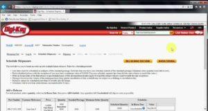 Programación de envíos online en moneda local