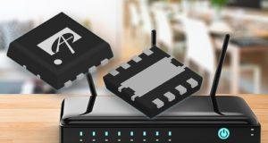 Reguladores buck de 1,25 MHz con entrada de hasta 18 V