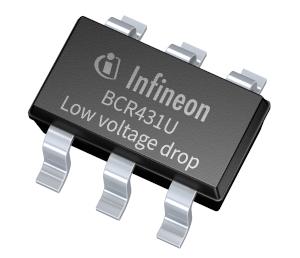 Controlador para tiras LED de baja corriente