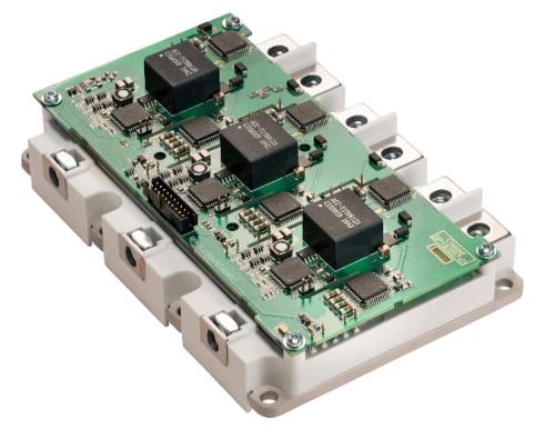 Módulo de alimentación inteligente de MOSFET SiC