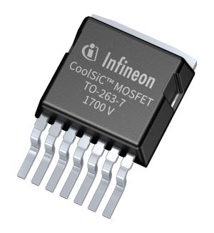 MOSFET SMD de clase V de 1700 V