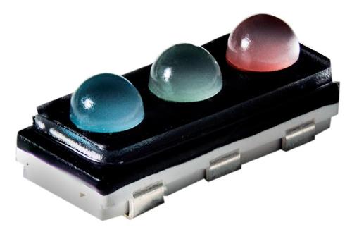 LED RGB SMD para señalización direccional de color