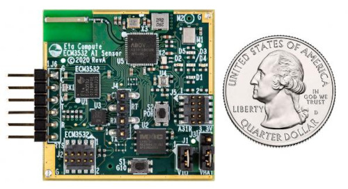 Placa de sensores IA para machine learnin
