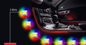 Controlador de LED ISELED con cualificación AEC-Q100
