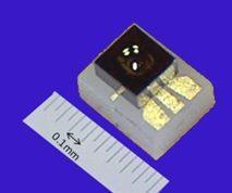 fotodiodo InGaAs con chip-on-carrier integrado en la lente KP-H KPDEH12L-CC1C