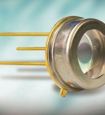 Fotodiodo ultravioleta con un área activa de 2,5 mm