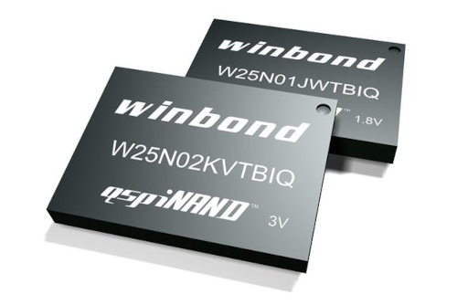 Memoria Flash QspiNAND para módem LTE