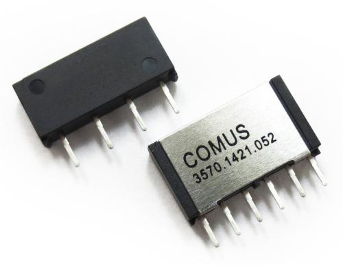 Relés Reed mini SIP para matrices de prueba e instrumentación