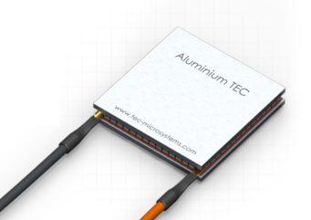 Coolers termoeléctricos con láminas de aluminio