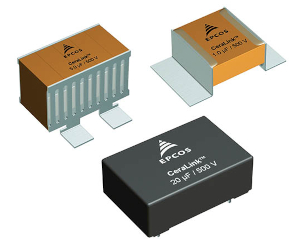 Figura 2 – Condensadores cerámicos TDK CeraLink para uso en DC-link y circuitos de amortiguación.