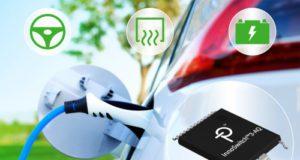 Circuito flyback switcher integrado para vehículos eléctricos