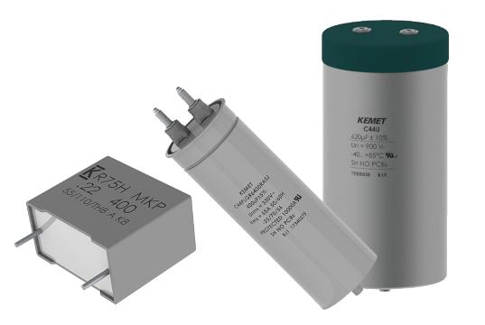 Condensadores de película para energías renovables y automoción