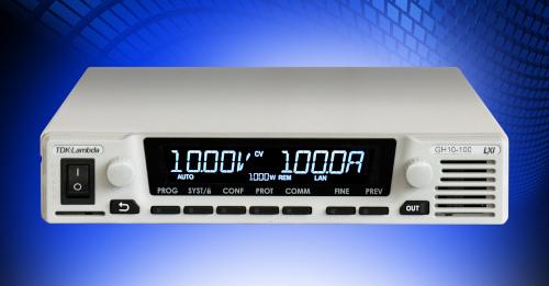 Fuentes 1U programables para alimentación CC de 1 kW