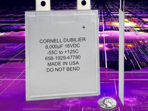 Condensadores electrolíticos de 1 mm con polímero