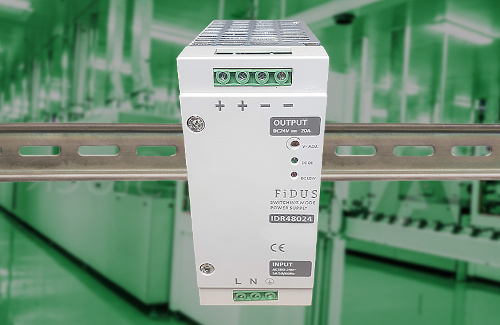 Fuente de 480 W para alimentación en carril DIN