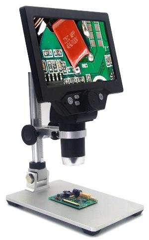 Microscopio digital con baterías
