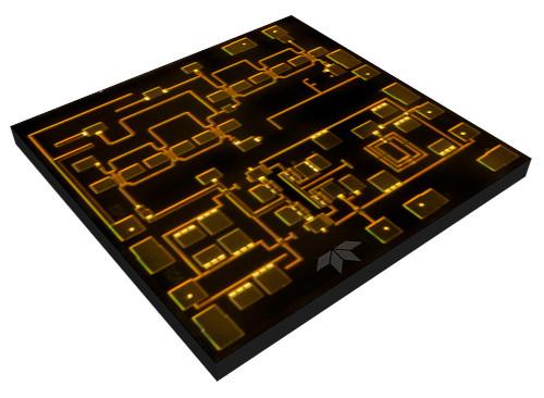 Duplicador de frecuencia de 25 GHz para proyectos aeroespaciales