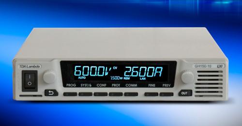 Fuentes de laboratorio programables DC de 1500 W