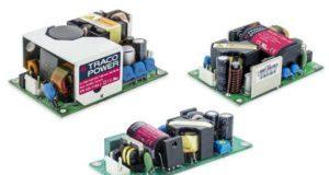 Fuentes open frame de 30, 65 y 125 W para alimentación AC/DC
