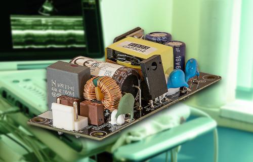 Fuentes AC/DC open frame de 30 W para aplicaciones portátiles en sanidad