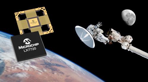 Controlador monochip de motores de señal mixta resistente a la radiación