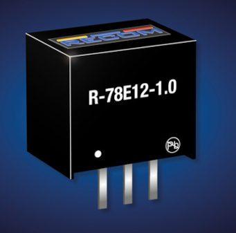 Reguladores de conmutación con opción de salida a 12 V