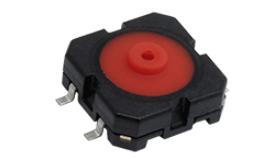 Interruptor táctil mid-travel de 12 mm