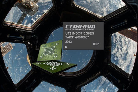 Módulo de memoria flash NAND para aplicaciones espaciales