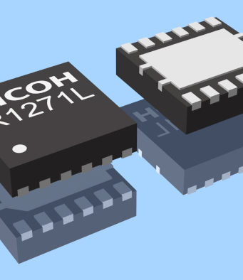 R1271 convertidor CC/CC reductor síncrono compacto de 1A