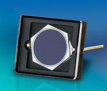 Detector ultravioleta con un diámetro de área activa de 5,5 mm