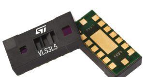 Sensor ToF VL53L5 con detección multizona y multiobjeto