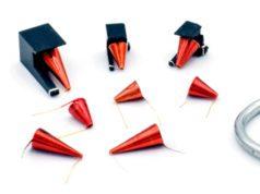 Inductores cónicos de radiofrecuencia por microondas