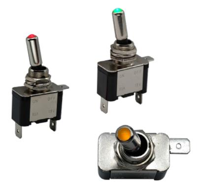 Interruptores de palanca iluminados ILT