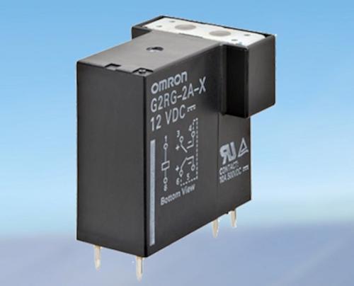 Relé compacto de 500 VCC para circuitos de carga