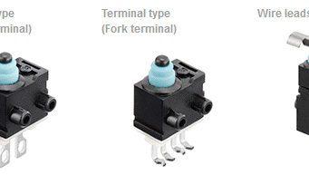 Interruptores impermeables con función de detección de fallos