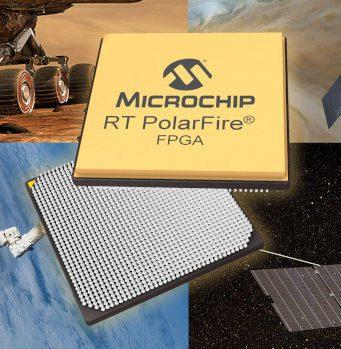 FPGAs PolarFire tolerantes a la radiación y de baja potencia