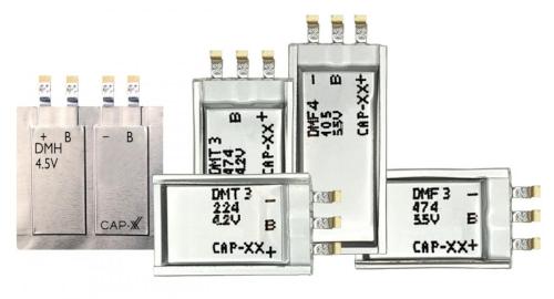 Supercondensadores prismáticos de 35 mF a 1 F
