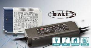 LCM-DA2 y PWM-DA2 Controladores regulables DALI 2.0