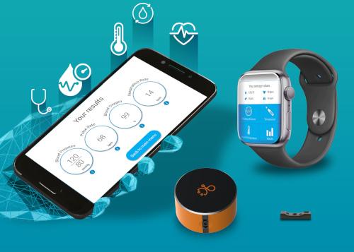 Módulo V-Sensor para teléfonos, vestibles y dispositivos móviles